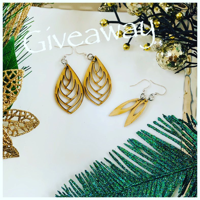 GIVEAWAY: Win Bamboo Earrings on Instagram