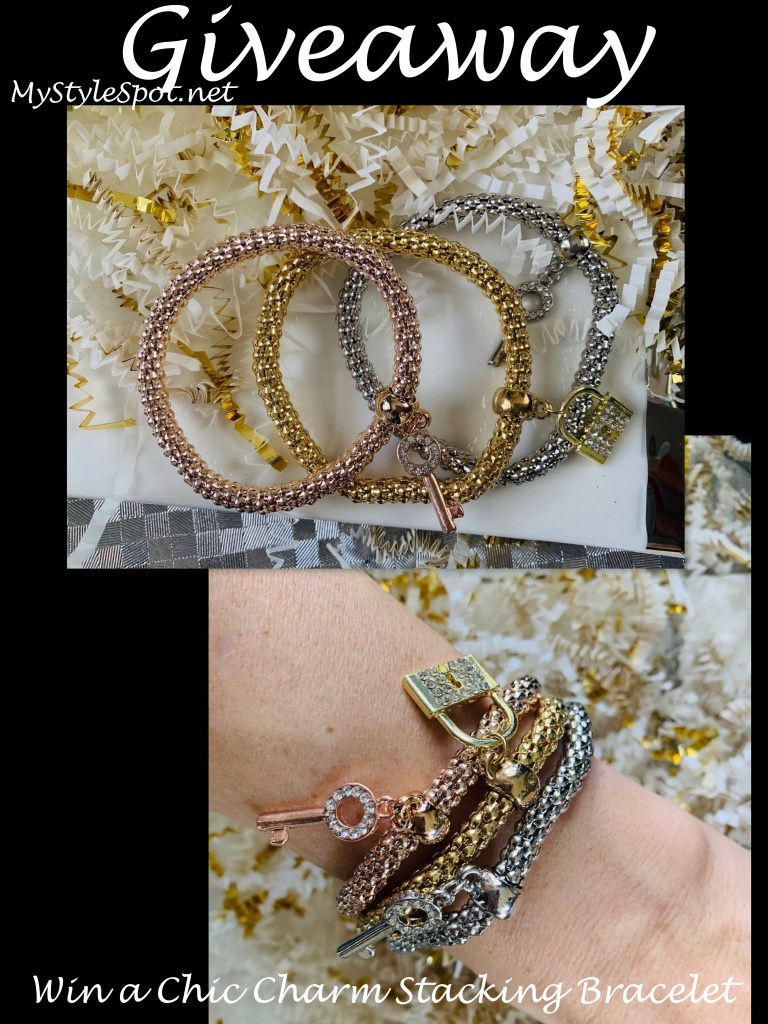 charm stacking bracelet giveaway