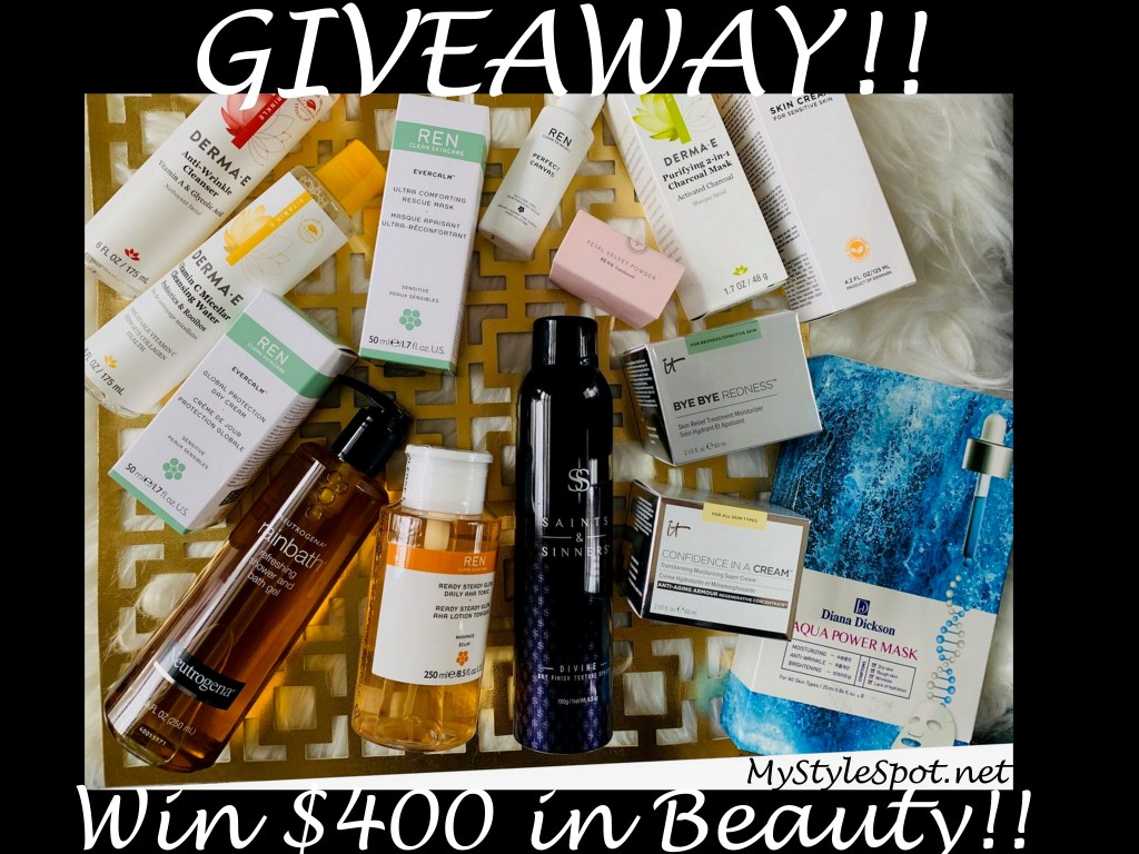 Win $400 in Beauty!