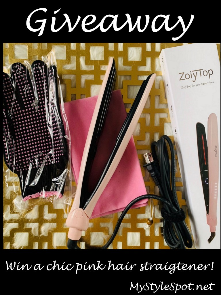 GIVEAWAY: Win a Chic Pink Hair Straightener