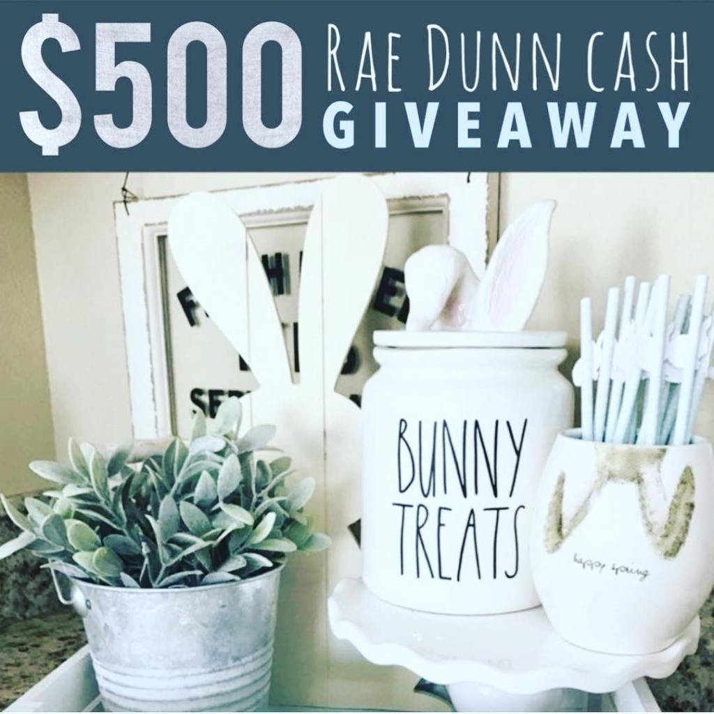 Win $500 to spend at Rae Dunn