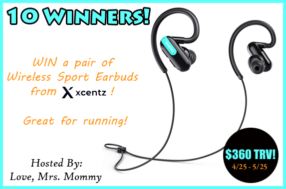 Enter to win wireless earbuds (a $360 value!) 10 WINNERS!