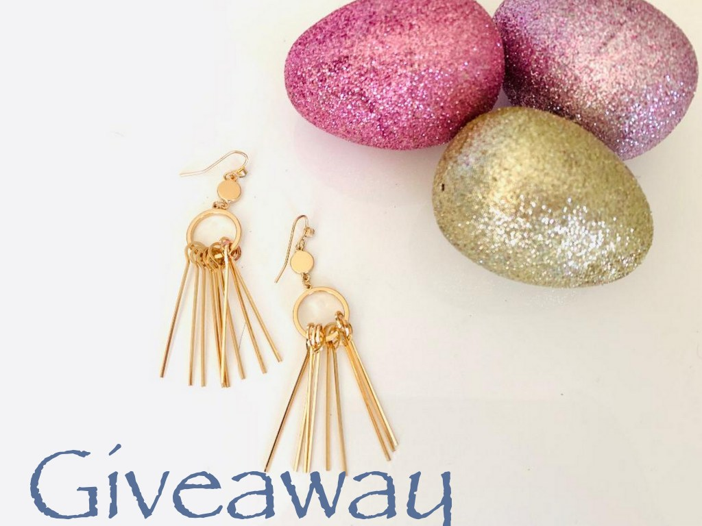 Enter to win gorgeous 18k gold plated earrings
