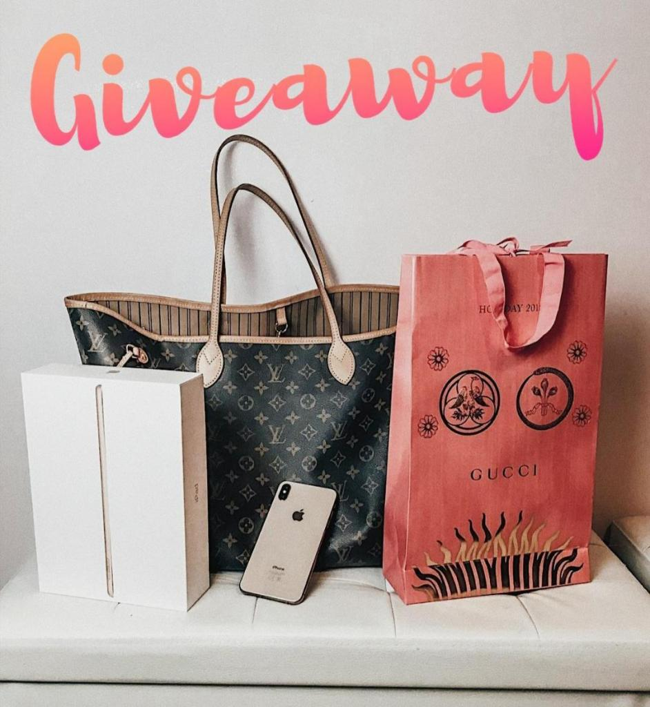 GIVEAWAY: Win an Iphone X, Ipad, and Gucci Suprise box ($2500 Value)
