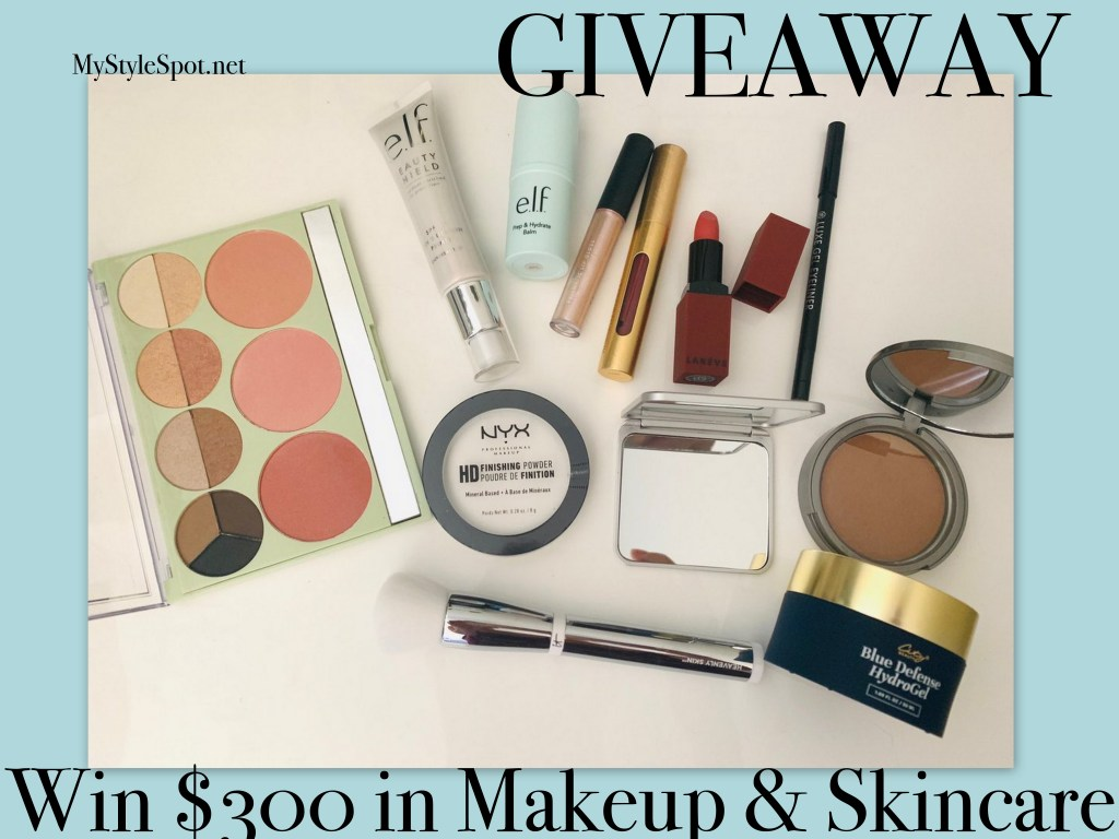 Enter to win $300 in makeup and skincare + Tons of other prizes!