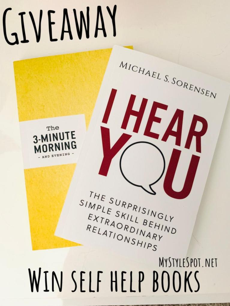 Win a pair of self help books