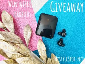 Enter to win wireless earbuds