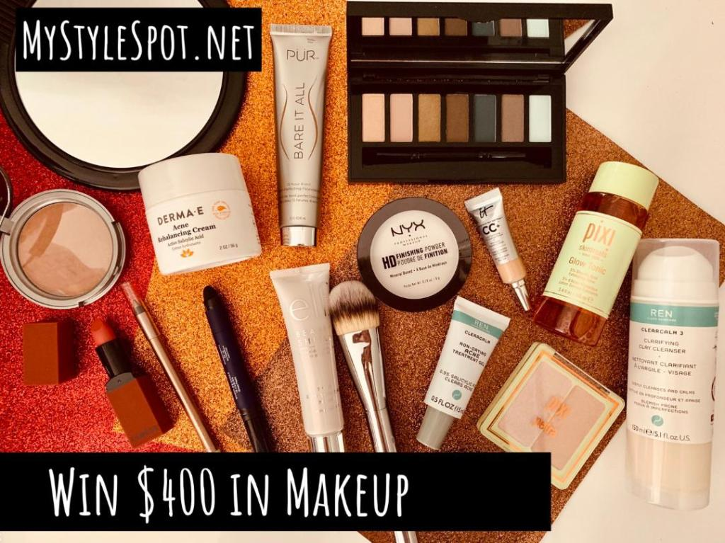 Enter to win $400 in makeup