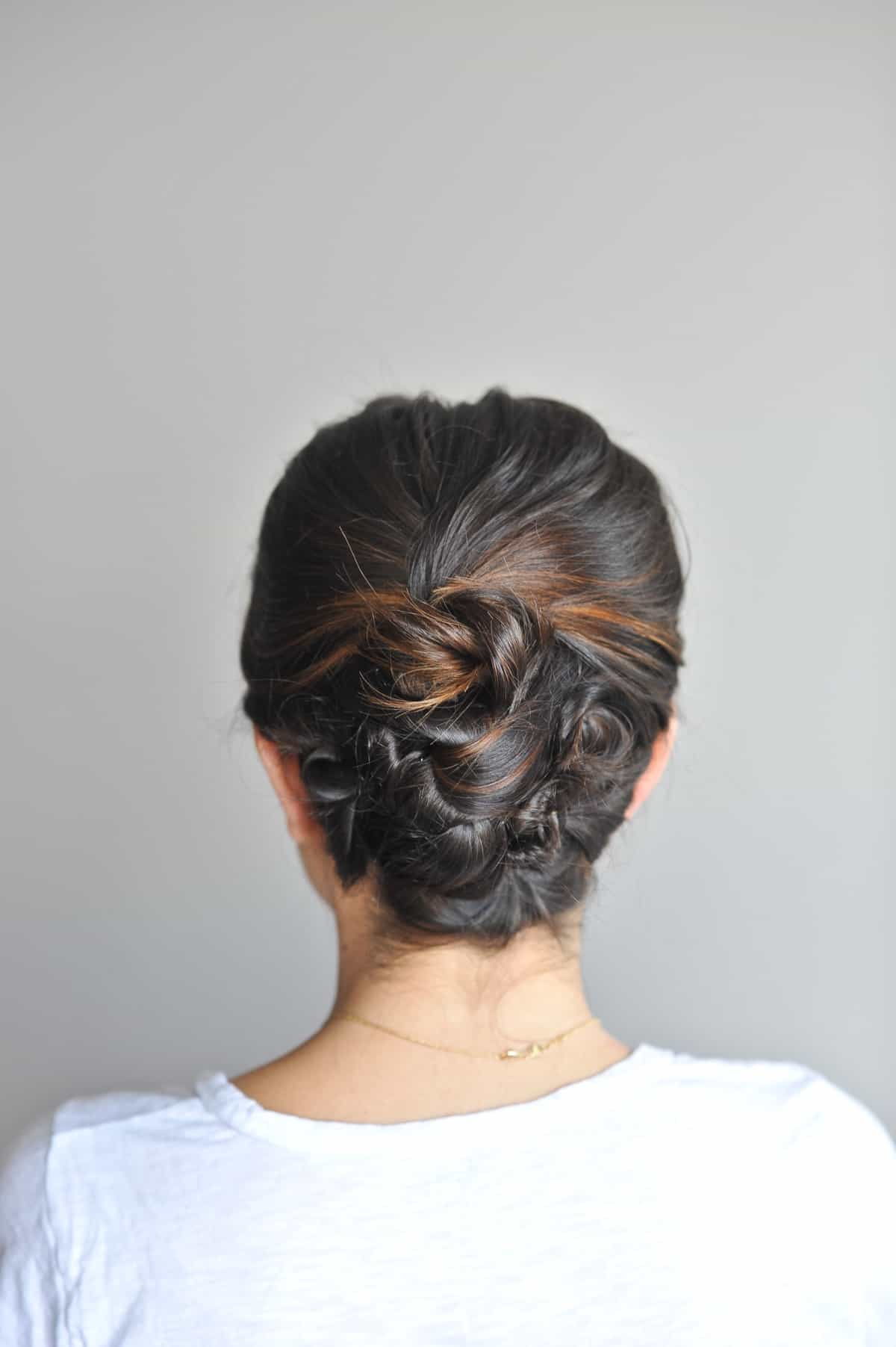 Twisted Up Do  Hairstyles For Short Hair  My Style Vita