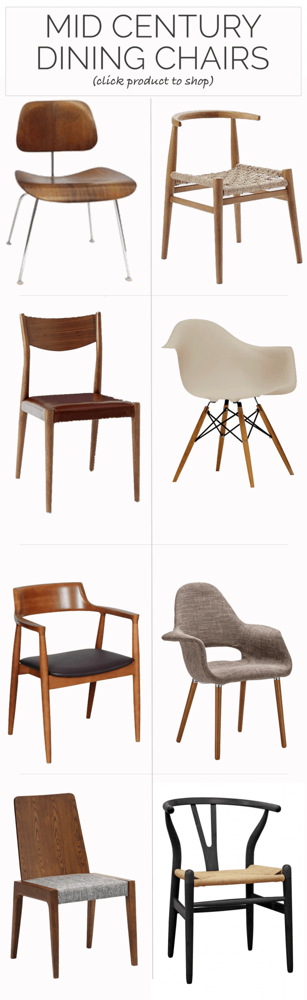 Mid Century Dining Chair The Best Mid Century Dining Chairs My Style Vita