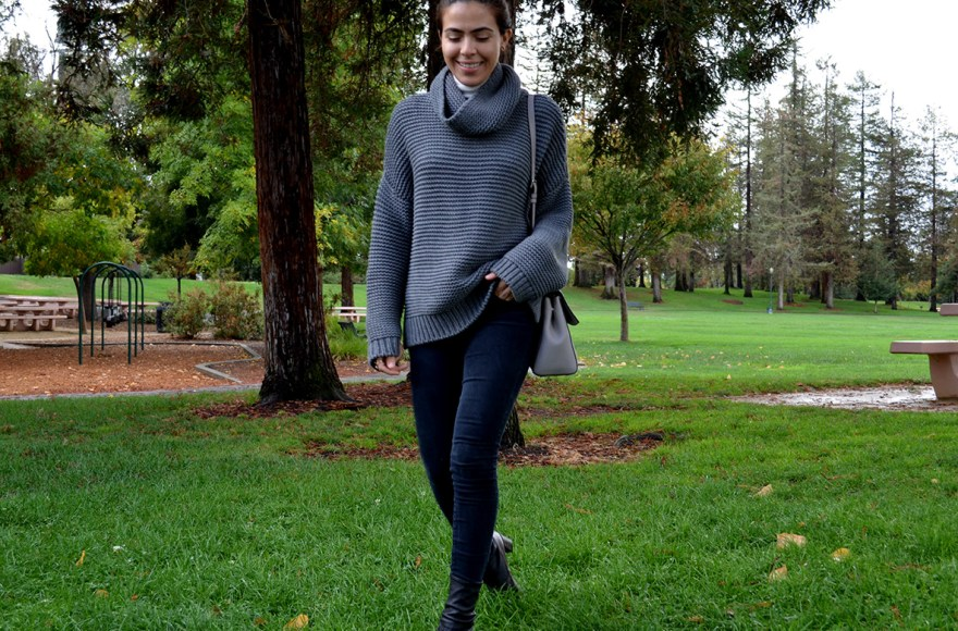 sweater, sweater weather, sweater, sweater style 2016, fall sweaters, style, gray sweater, karla vargas, my stylosophy