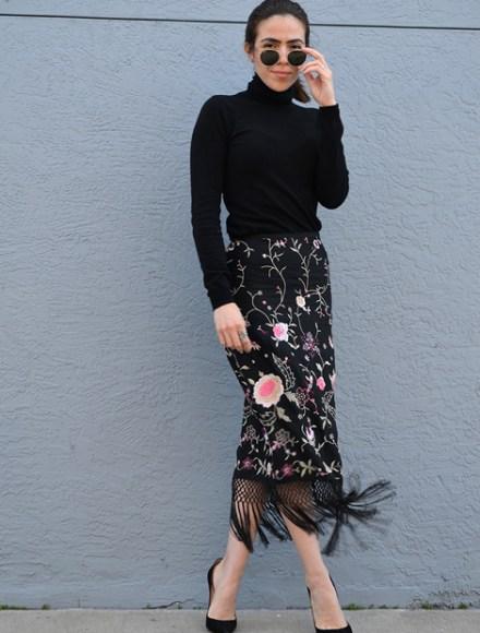 KarlaVargas-EmbroiderySkirt-SanDiegoBlogger-SanFranciscoBlogger-christianlouboutinpumps