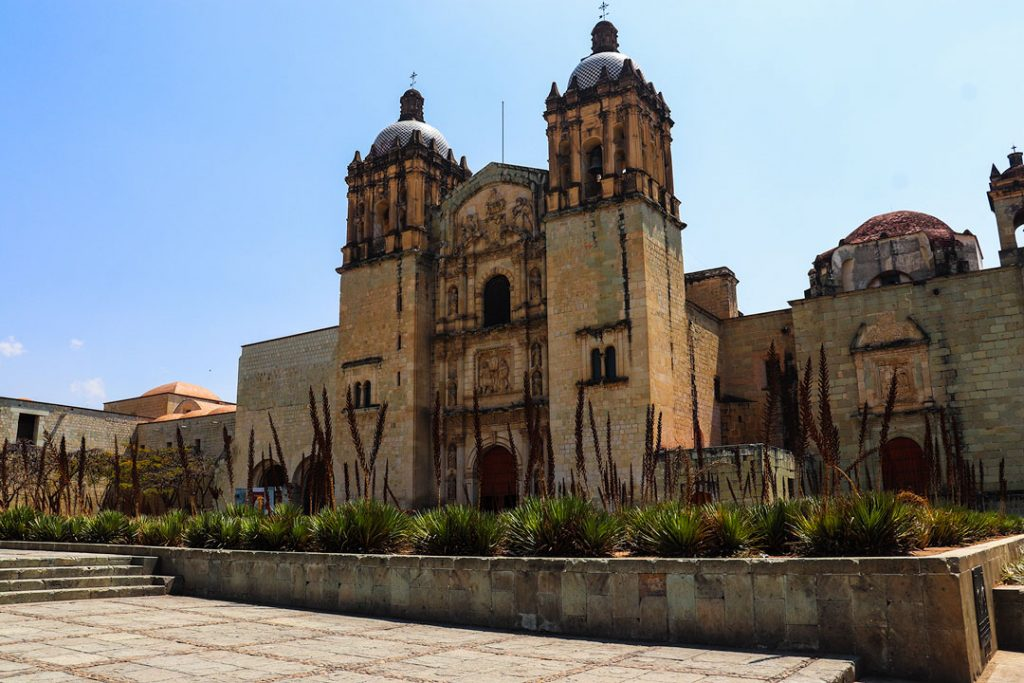 Iglesia Santo Domingo. Santo Domingo Church Oaxaca