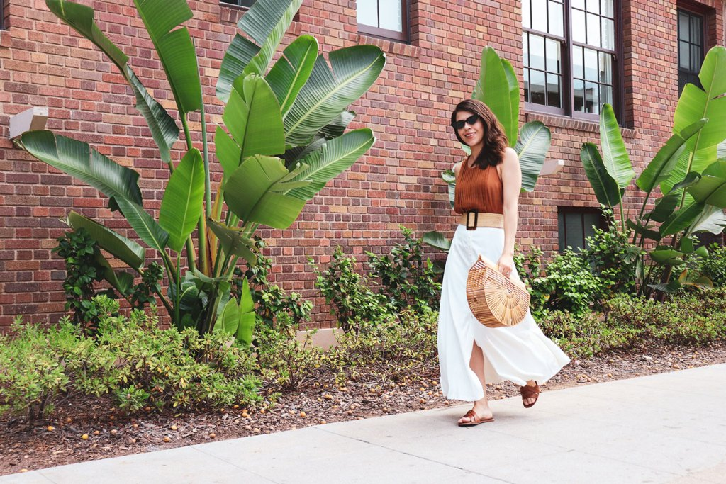 How to wear a Cult Gaia bag