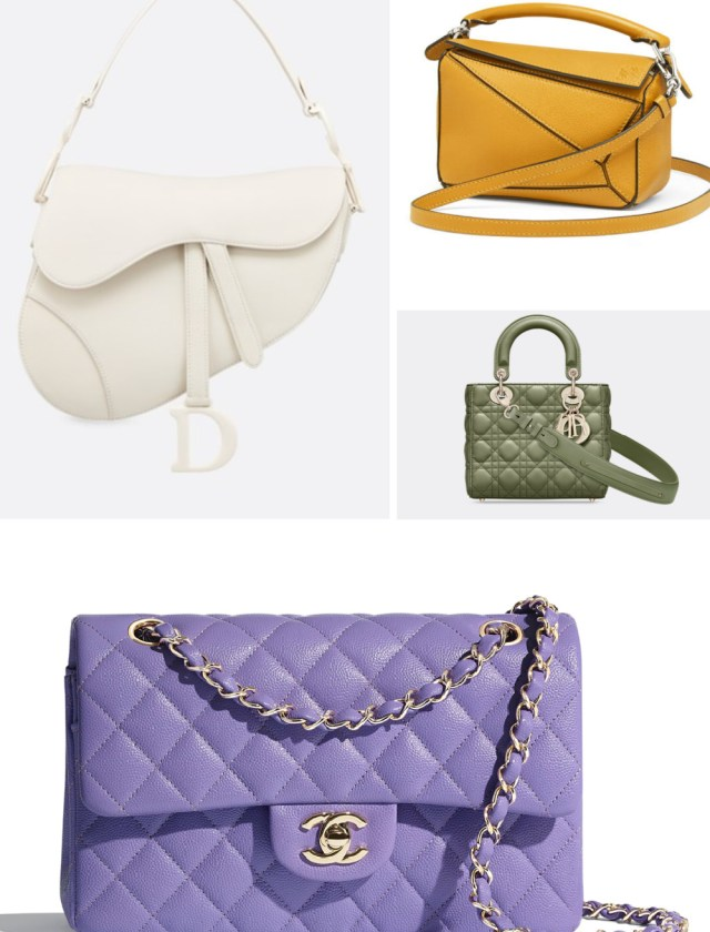 Investment bags, dhior, Chanel, Loewe