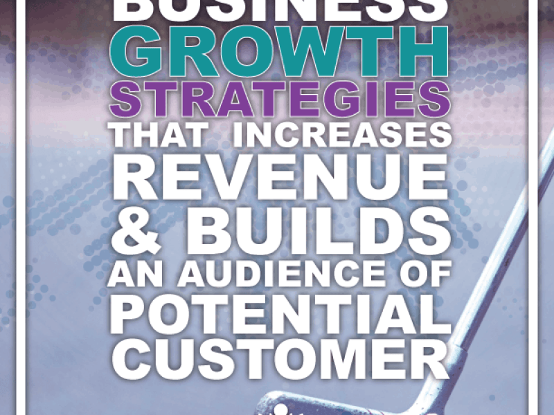 Business Growth Strategy That Increases Revenue & Builds An Audience of Potential Customer