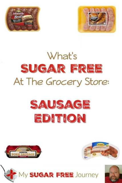 What's Sugar Free at The Grocery Store: Sausage Edition!