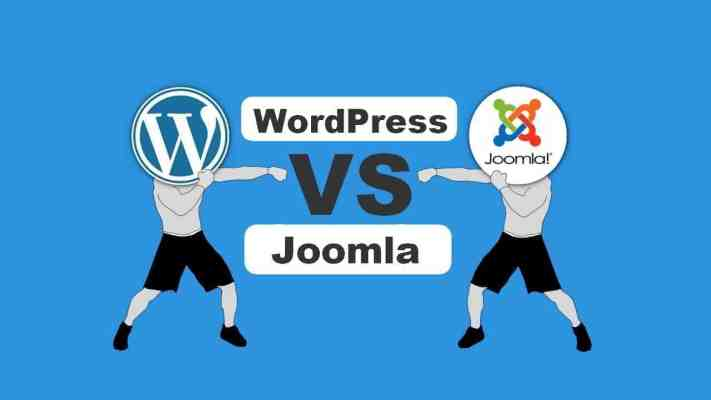 wordpress срещу joomla