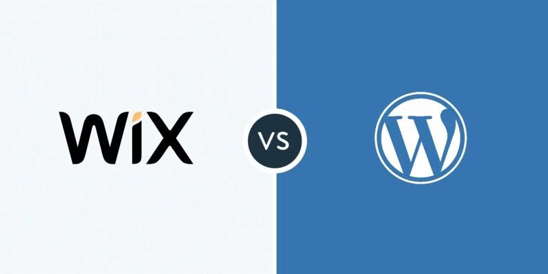 wordpress или wix