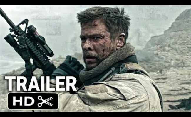 12 Strong Official Trailer 2018 Msp