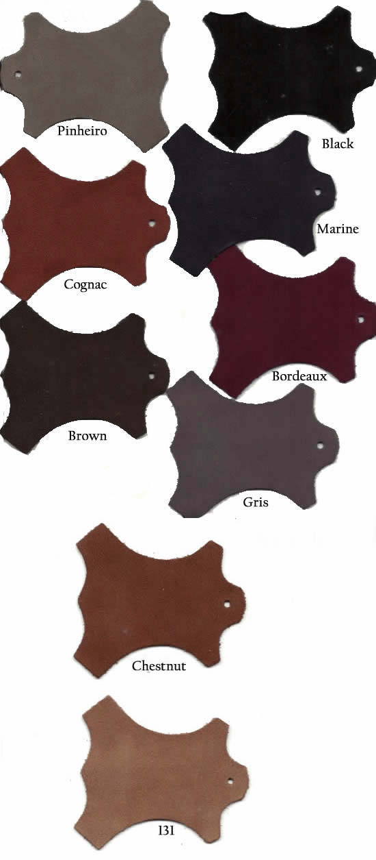 Suede - Colours available