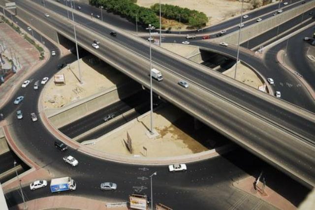 Three Tier Traffic Interchange Representational Pic