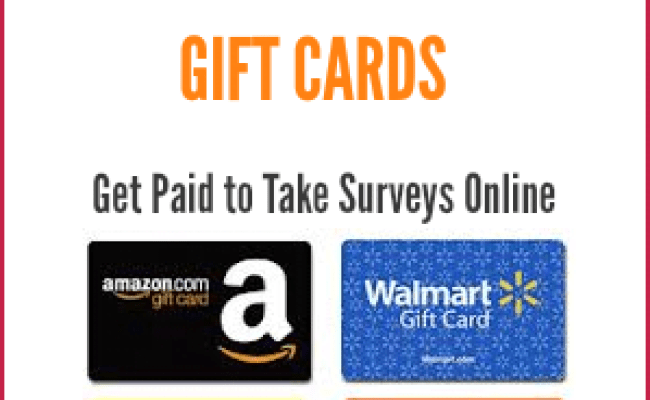 Best Online Survey Sites That Pay Amazon Store Gift Cards