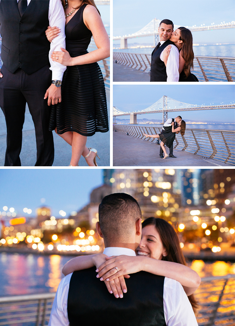 San Francisco Engagement Session Photoshoot | http://mysweetengagement.com/beautiful-and-creative-engagement-photos-and-save-the-date-in-sanfran for more. Photos: Anna Perevertaylo.