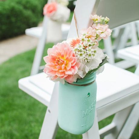 Wedding Color: Mint Green • My Sweet Engagement