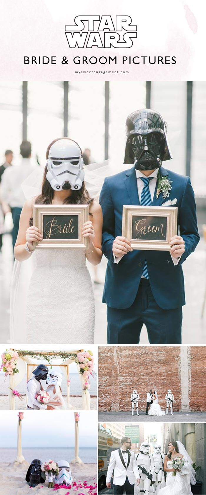 Star Wars Wedding Ideas to PIN Right Now • My Sweet Engagement ❤️