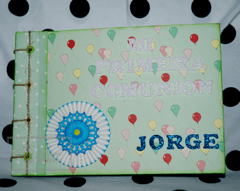 Libro Comunión Jorge 1