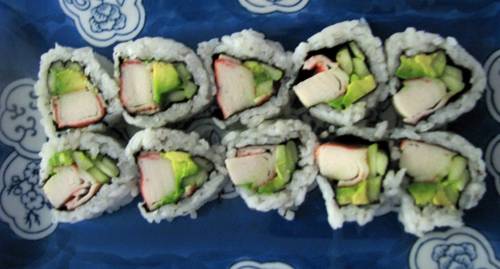 how to make simple organic sushi rolls sweet greens