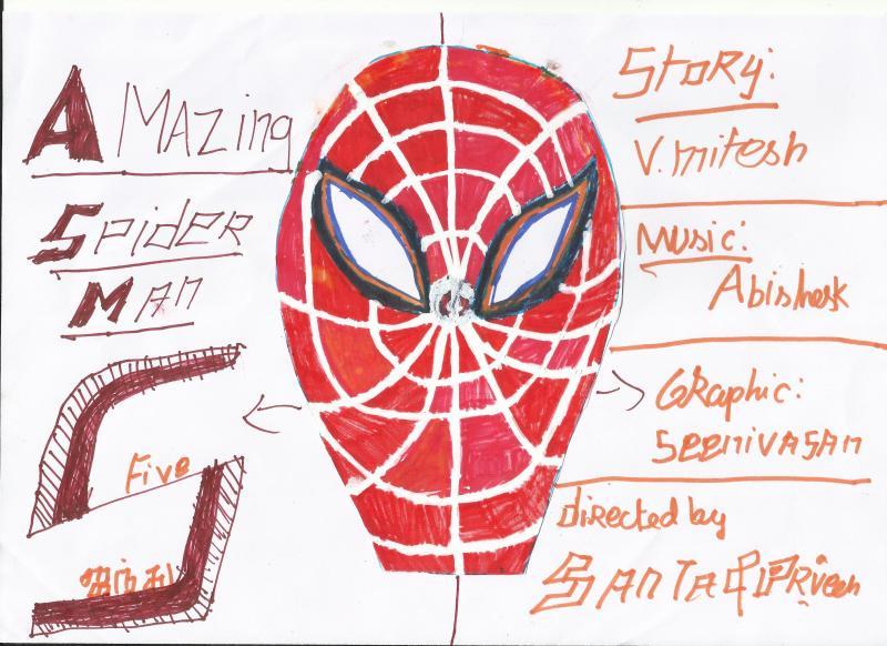 Amazing spider Man 5 Poster
