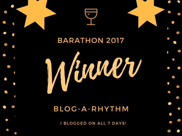 #BarAThon Winner Badge