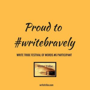 #writeBravely Badge
