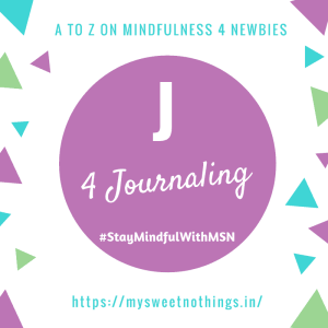 A To Z 2018 Challenge - J For Journaling
