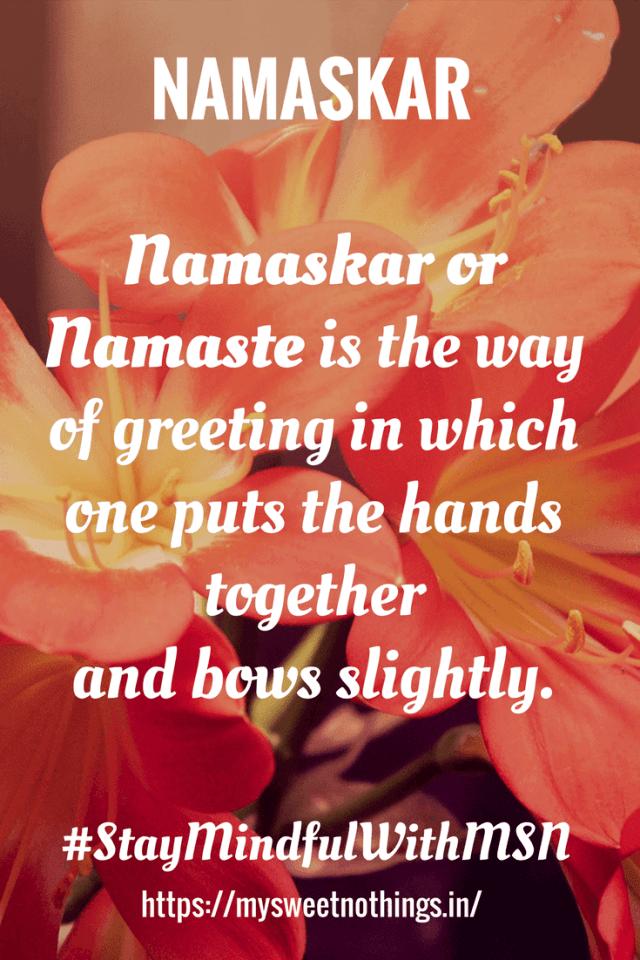 N For Namaskar