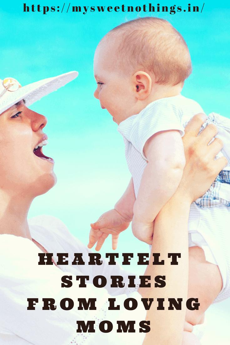 Heartfelt stories from loving mom