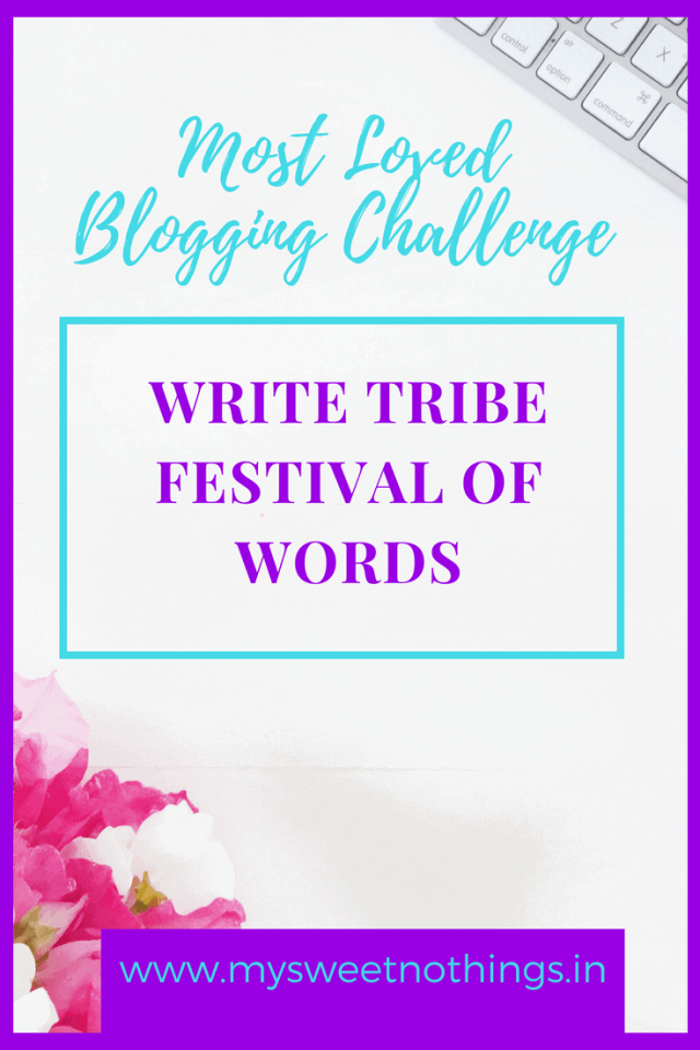 Most Loved Blogging Challenge Festival Of Words