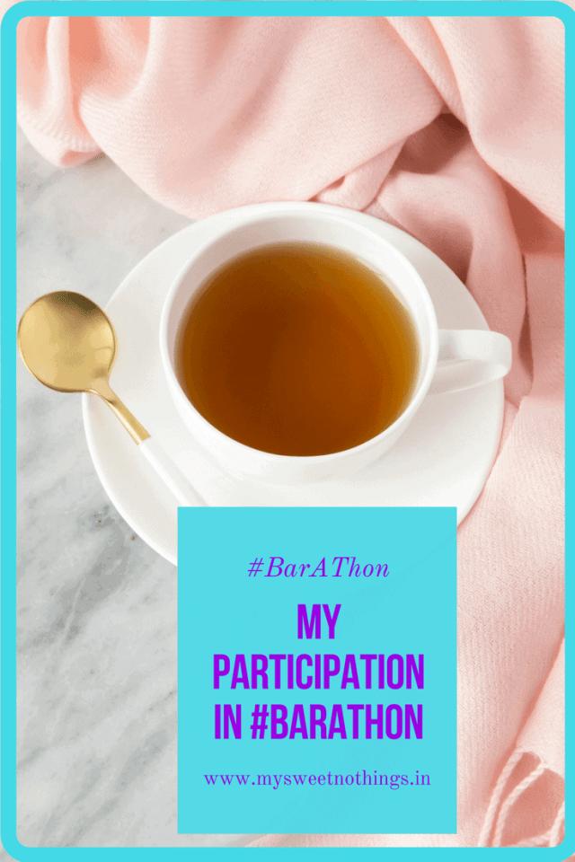 My Participation In BarAThon