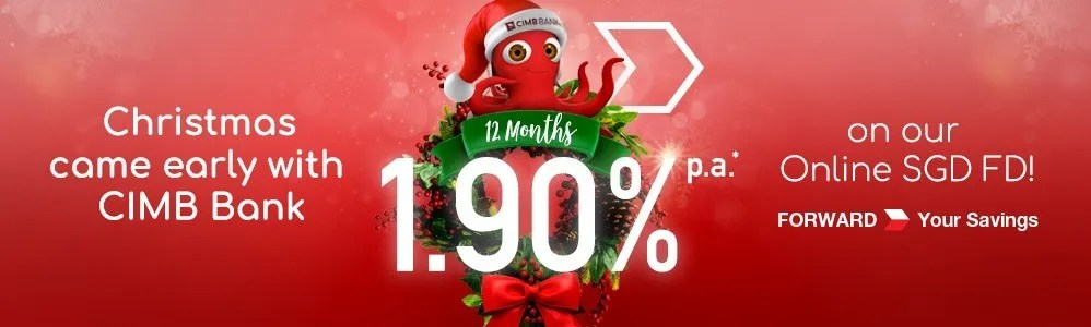 CIMB Bank Christmas Fixed Deposit Promotion