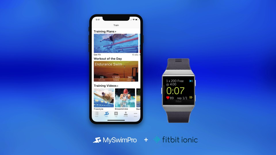 MySwimPro Fitbit Ionic App