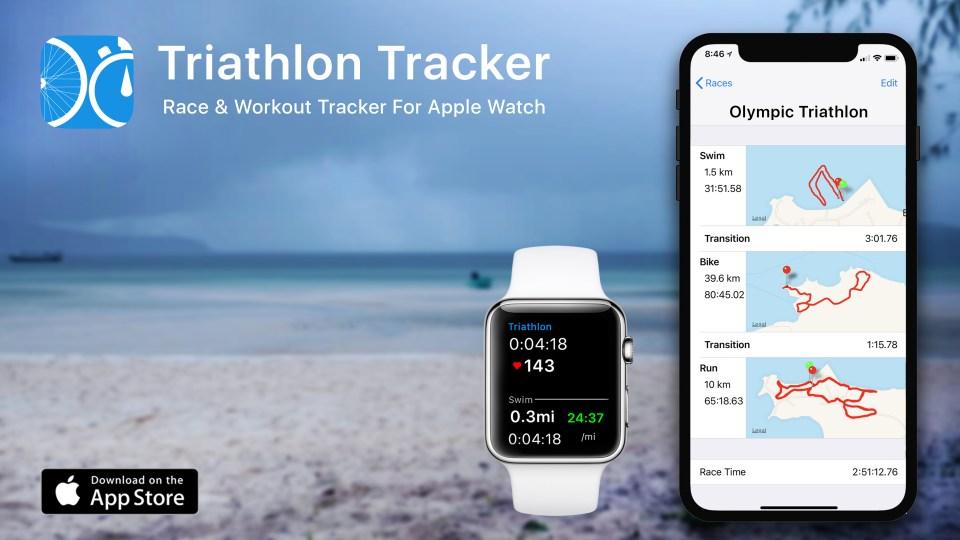 Triathlon Tracker - Race & Workout Tracker (Apple Watch