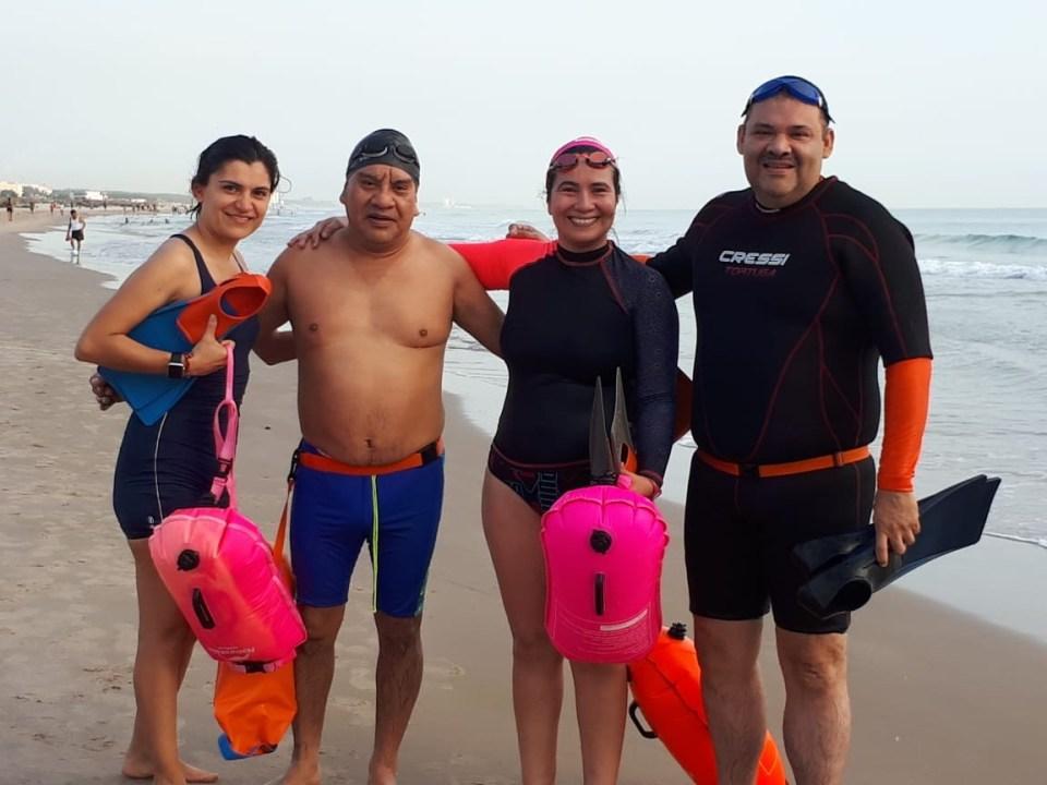 Mina Chrys open water group