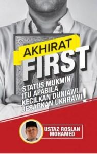 AKHIRAT FIRST