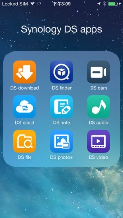 Synology Apps voor iPhone.