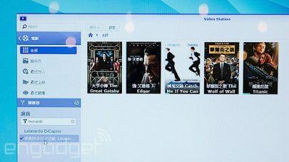 Video Station zal nu automatisch ondertiteling downloaden.