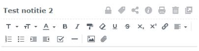 Notitie functies in DS Note