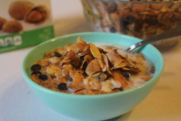Low Carb, Gluten Free, Grain Free Keto, Trim Healthy Mama Granola Cereal from My TAble of Three