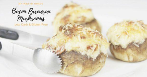 Bacon Stuffed Mushrooms || Low Carb, Gluten Free, THM